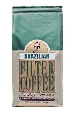 Mehmet Efendi Brazilian Filtre Kahve Kurukahveci 250 gr