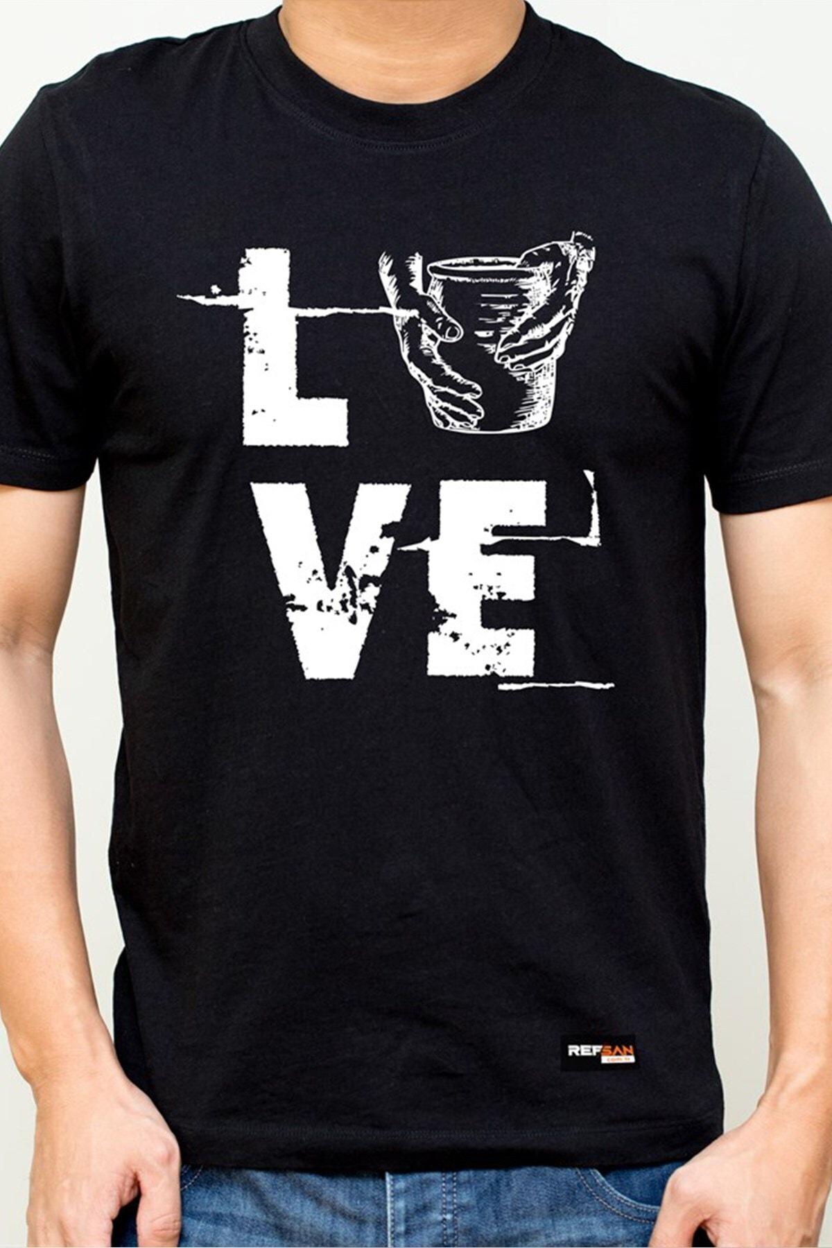 Ref-San Tasarım Tişört - Love 2