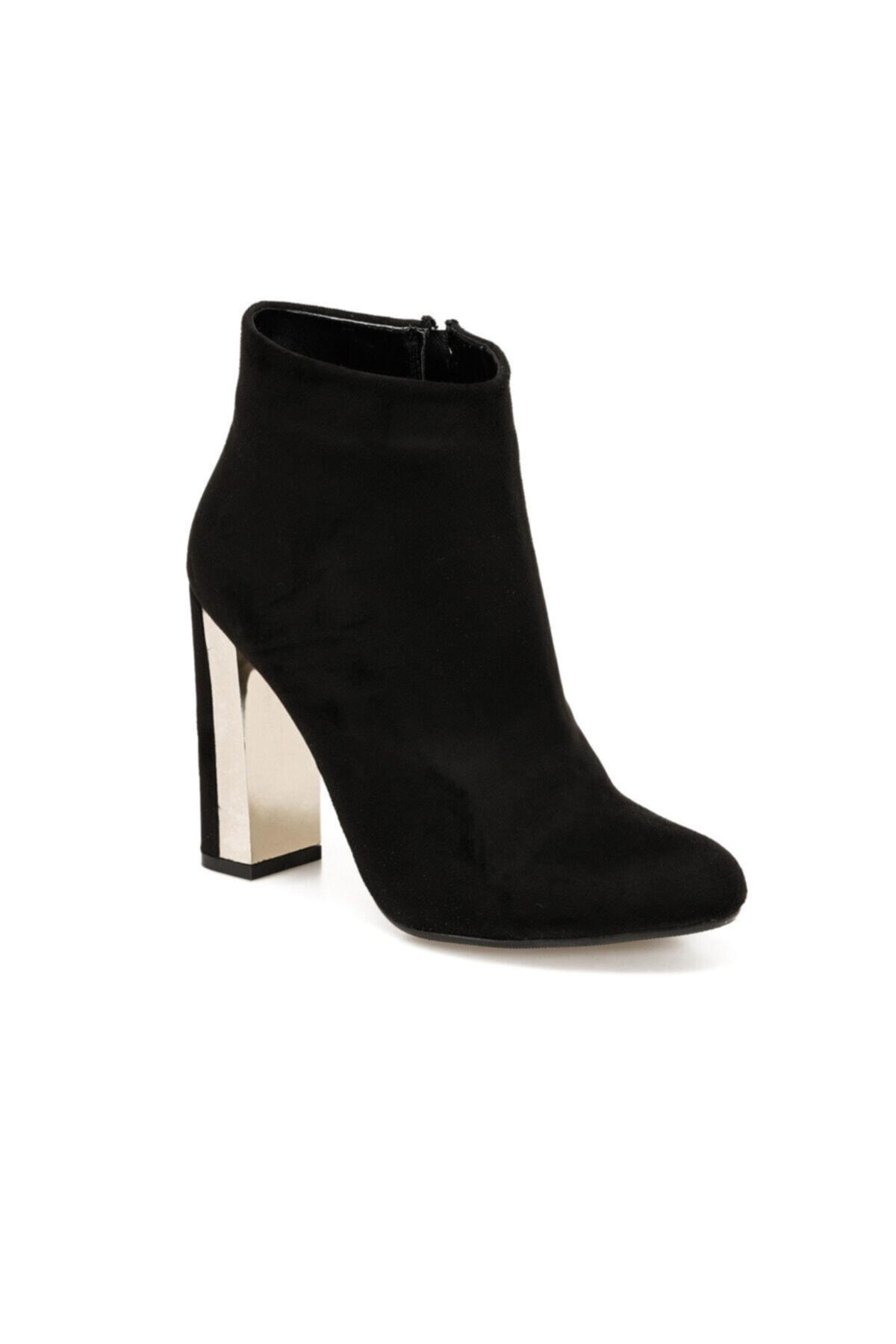 Butigo BURGOS Siyah Kadın Topuklu Bot 100523290 1