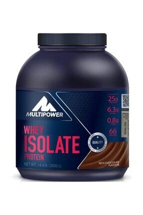 Multipower %100 Whey Isolate Protein 2000 gr - Çilek- Aroma -