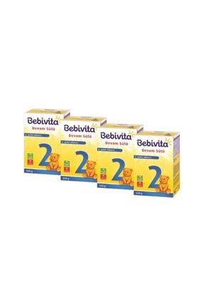 Bebivita 2 Bebek Sütü 500 gr X 4 Adet
