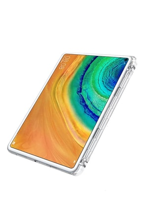 Microcase Huawei Matepad Pro 10.8 Inch Soft Tpu Kalem Koymalı Silikon Kılıf Şeffaf