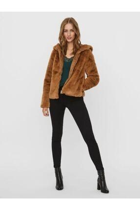 Vero Moda Kadın Kahverengi Mont