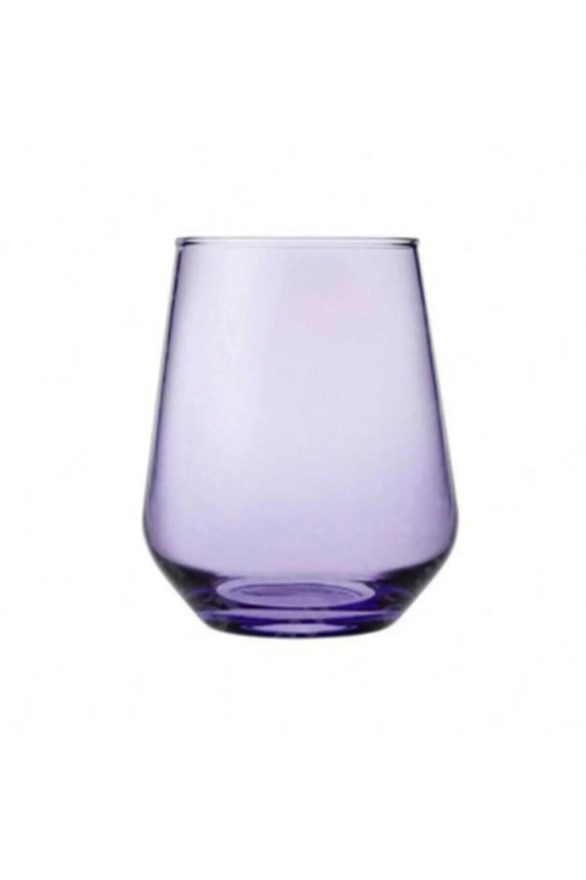 Paşabahçe Allegra Mor 6'lı Kahve Yanı Su Bardağı 420202 1