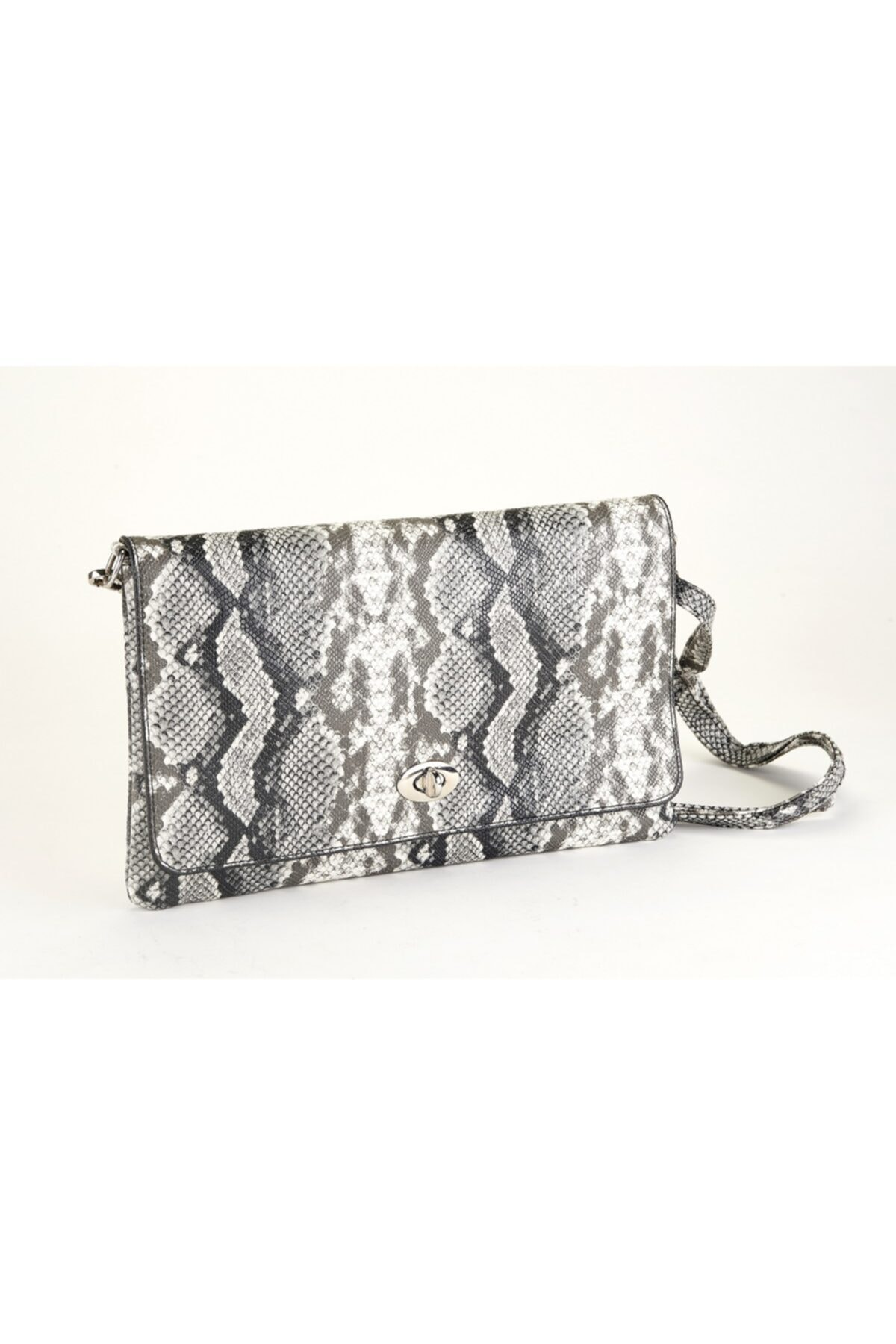 Coquet Accessories Siyah Beyaz Bellini Clutch 1