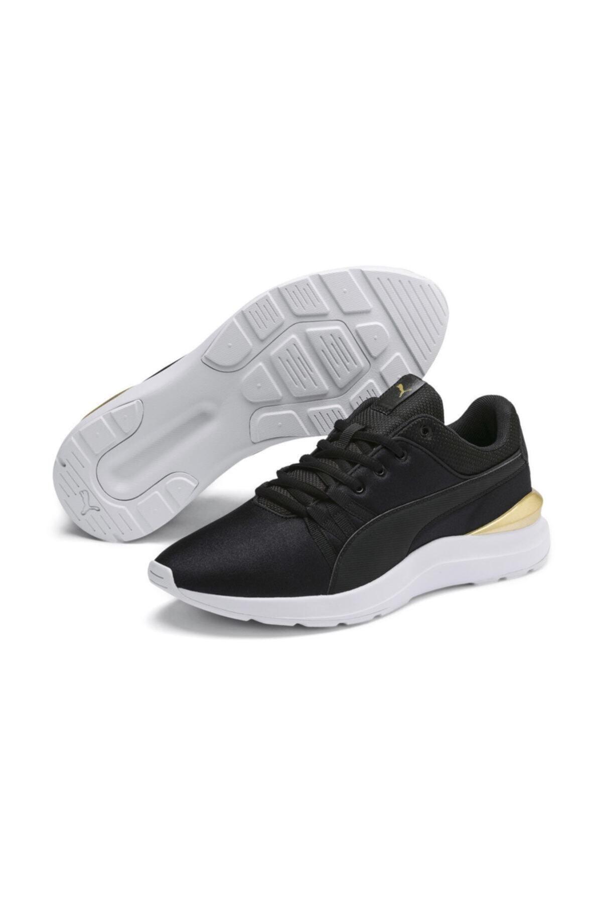 Puma Kadın Siyah Bağcıklı Spor Ayakkabı 1