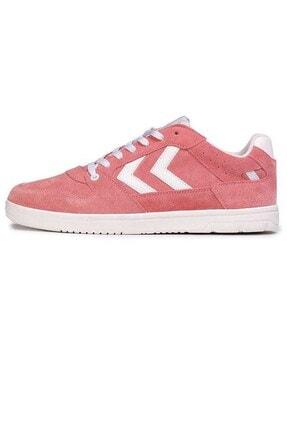 HUMMEL Unisex Açık Turuncu Power Play Suede Sneaker 208481-3071