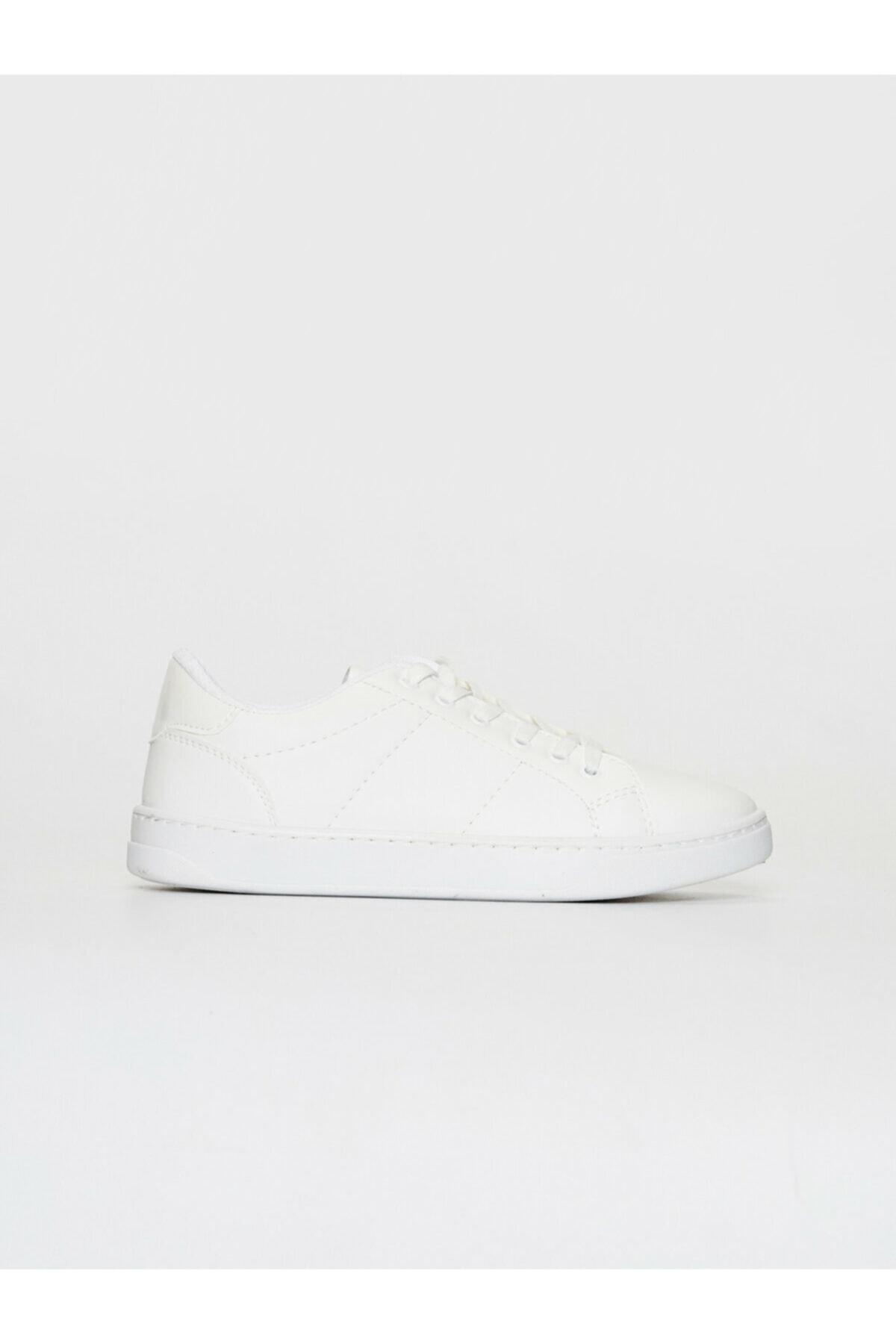 LC Waikiki Kadın Beyaz Sneaker Ayakkabı 2