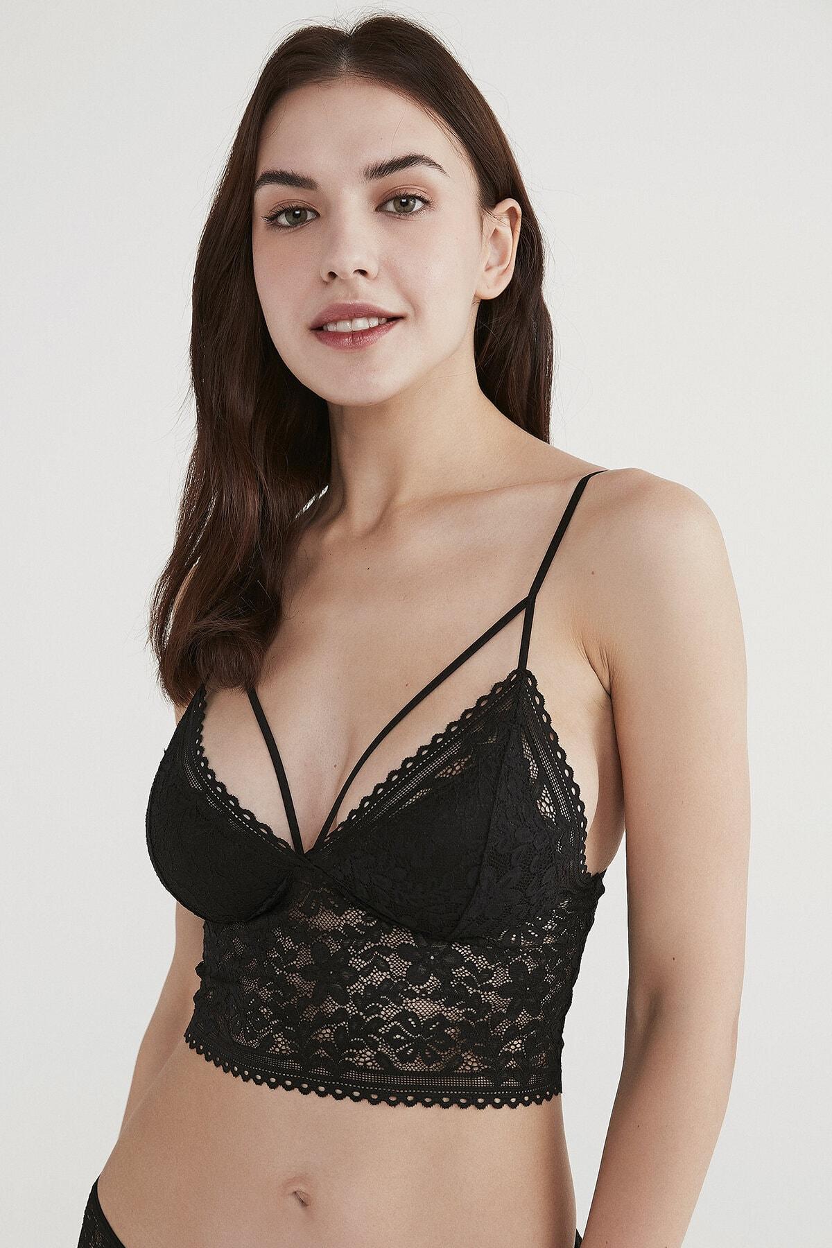Penti Kadın Siyah Luna Bralet