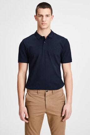 Jack & Jones JJEBASIC POLO SS NOOS Lacivert Erkek Kısa Kol T-Shirt 101069442