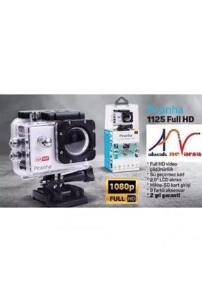 Piranha 1125 Aksiyon Kamerası Hd 12 Mp Su Geçirmez