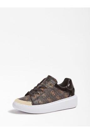 Guess Brandyn Kadın Kahverengi Sneaker