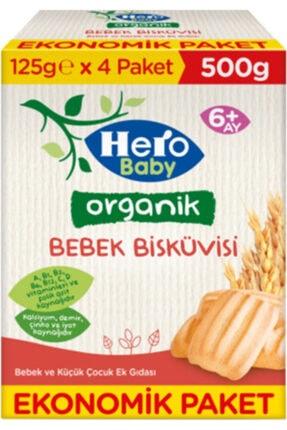 Hero Baby Organik Bebek Bisküvisi 500 gr