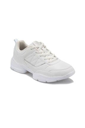 Kinetix Perla W 9pr Beyaz Kadın Kalın Taban Sneaker Spor Ayakkabı