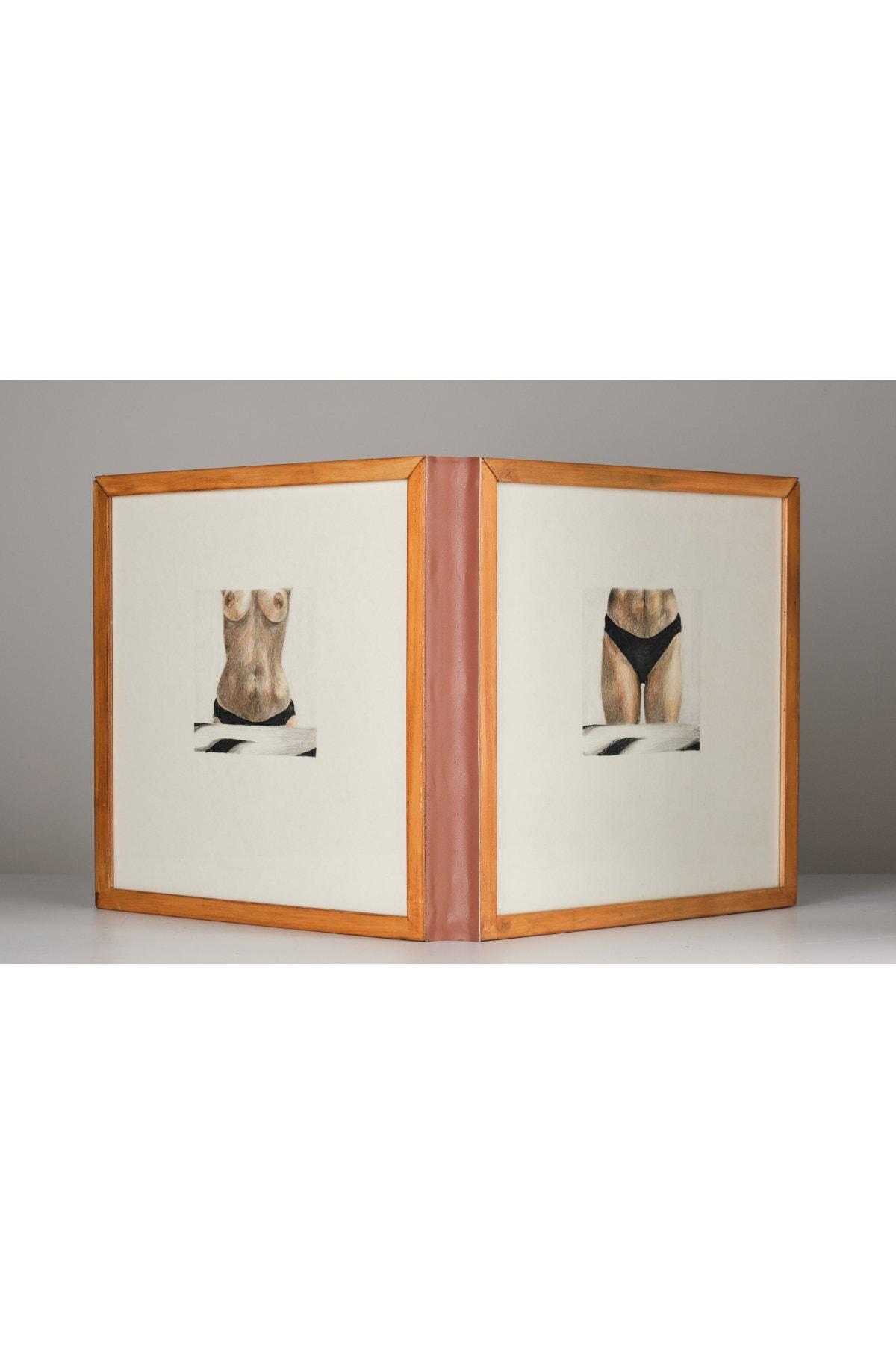 Özge Akdeniz Aç Bacak, 40x65x170, Kağıt Üzerine Renkli Kalem 1