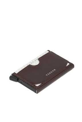 Tergan Unisex Kahverengi Deri Kredi KartlıkS1KK00000260