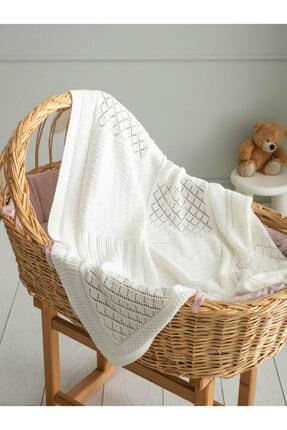 LCW HOME Beyaz Bebek Battaniyesi