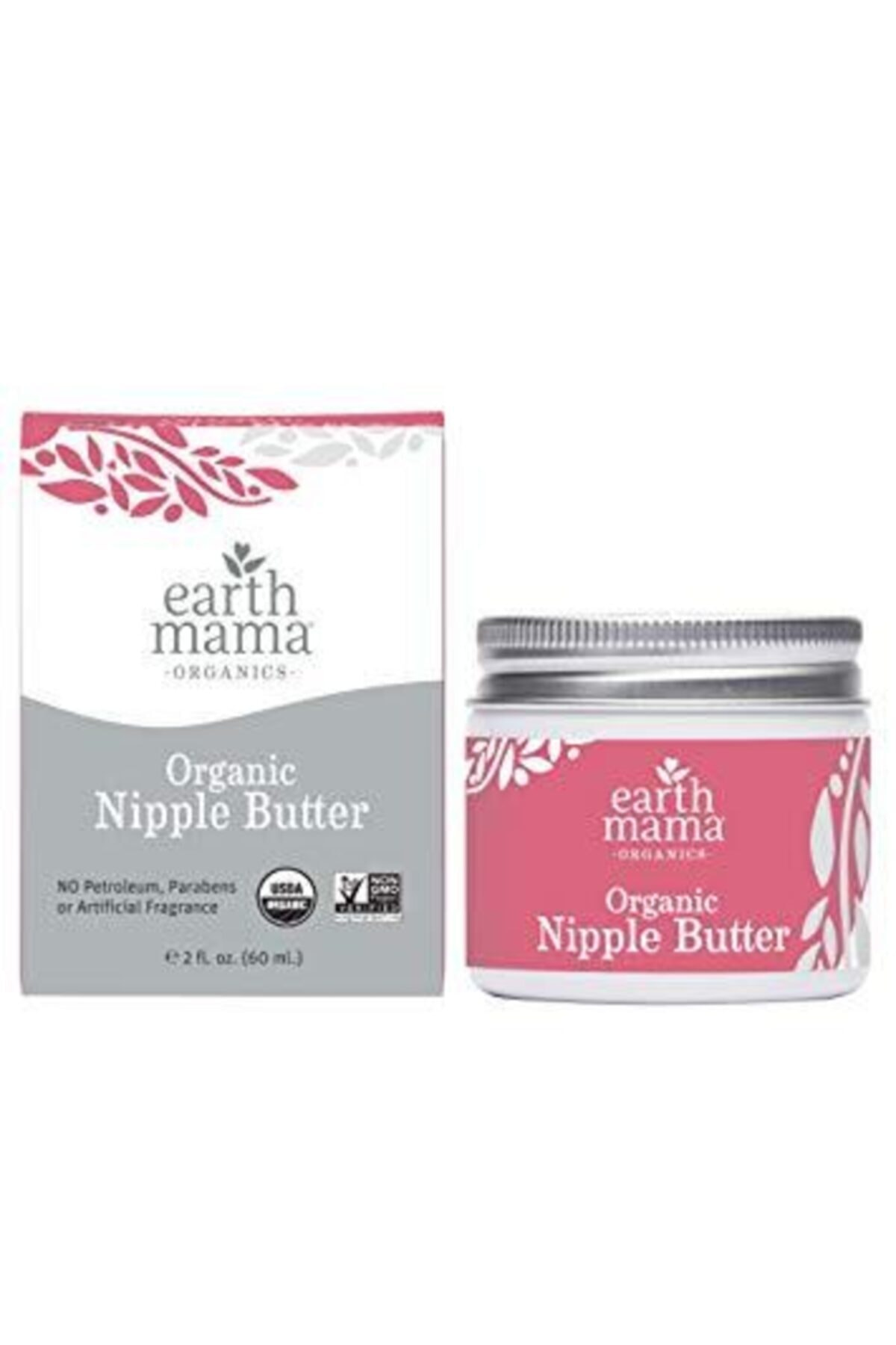 Earth Mama Angel Baby Earth Mama Organic Nipple Butter Göğüs Ucu Bakım Kremi 60ml 1