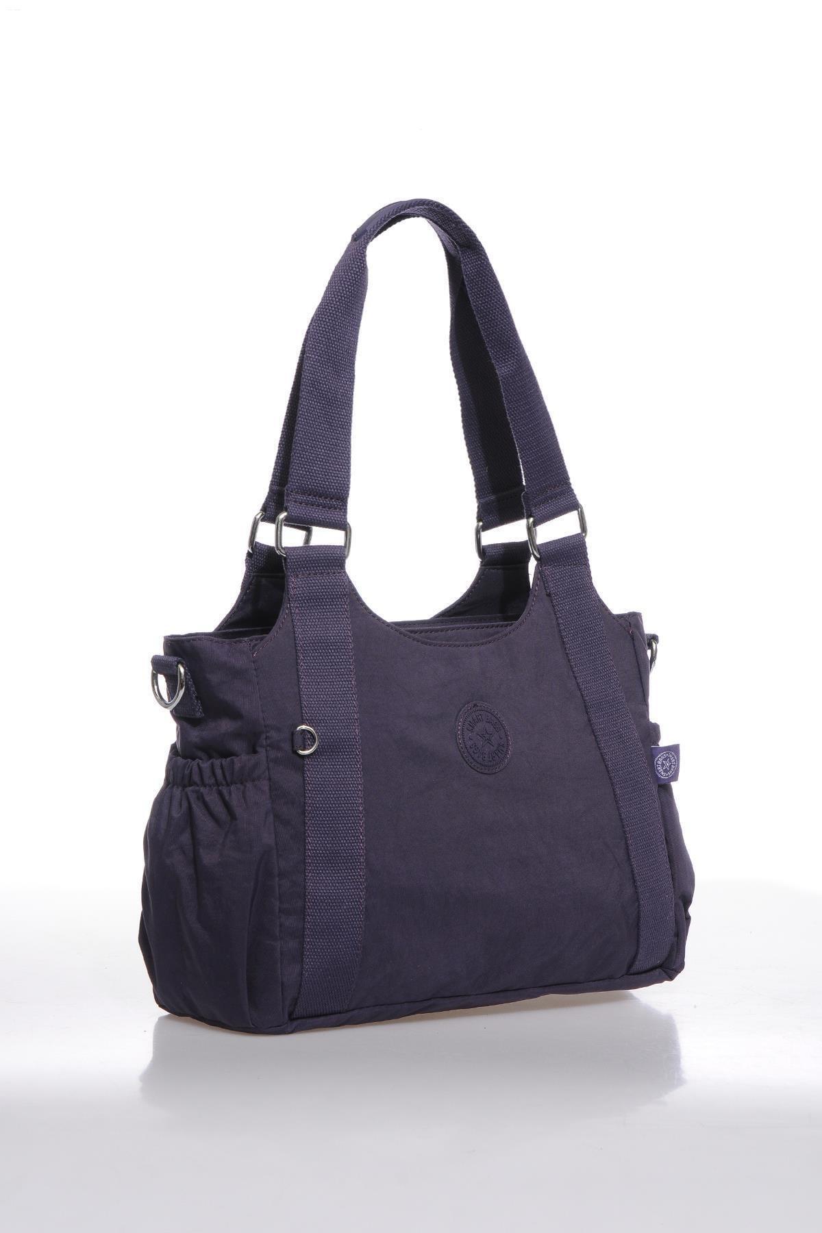 SMART BAGS Kadın Mor Omuz Çantası 1163-0027 2