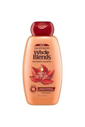 Garnier Whole Blends Hint Yağı Ve Akçaağaç Özlü Onarıcı Şampuan 650ml