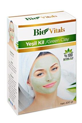 Bio Vitals Yeşil Kil 200 gr