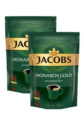 Jacobs Monarch Gold Kahve 400gr (200 gr X 2) Ekonomik Paket