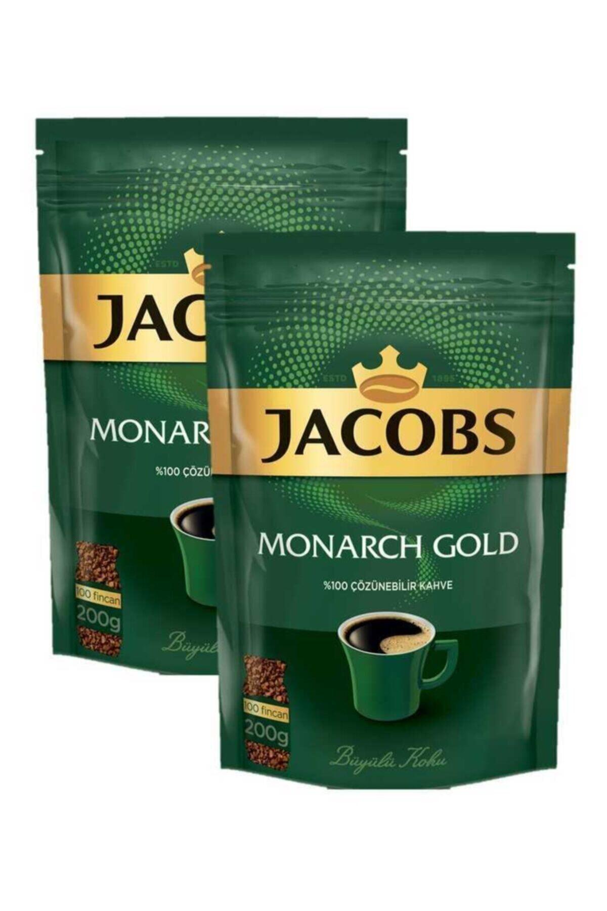Jacobs Monarch Gold Kahve 400gr (200 gr X 2) Ekonomik Paket 1