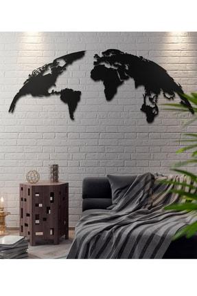 Ahşap Design Dünya Haritası Ahşap Tablo Duvar Dekoru