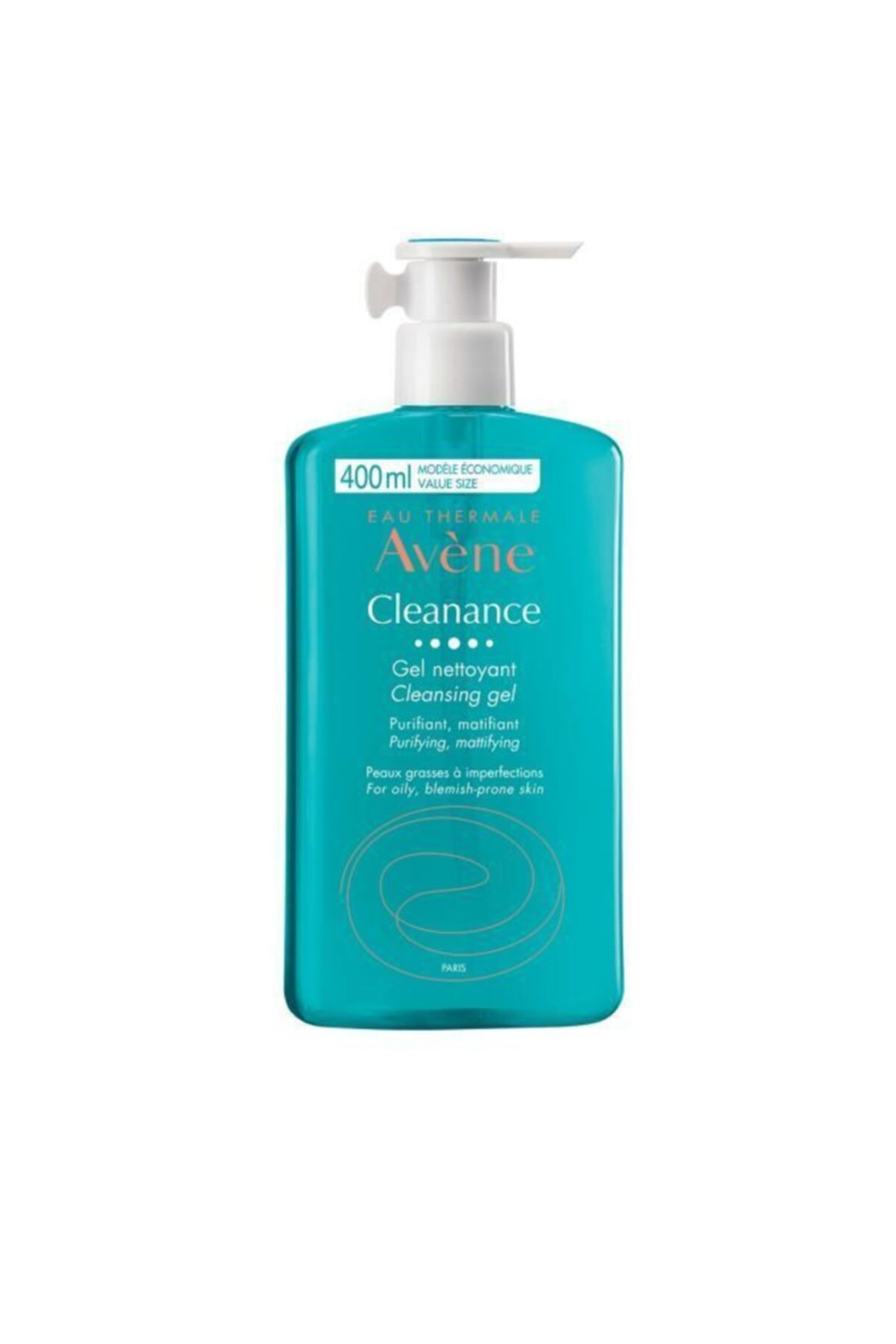 Avene Cleanance Gel 400 ml - Yağlı Ciltler Için Temizleyici 1