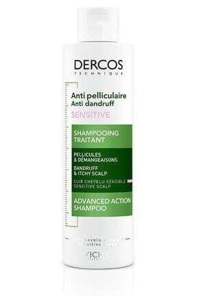 Vichy Dercos Shampoo Anti Dandruff 200ml | Kepek Karşıtı Şampuan Hassas Saç Derisi