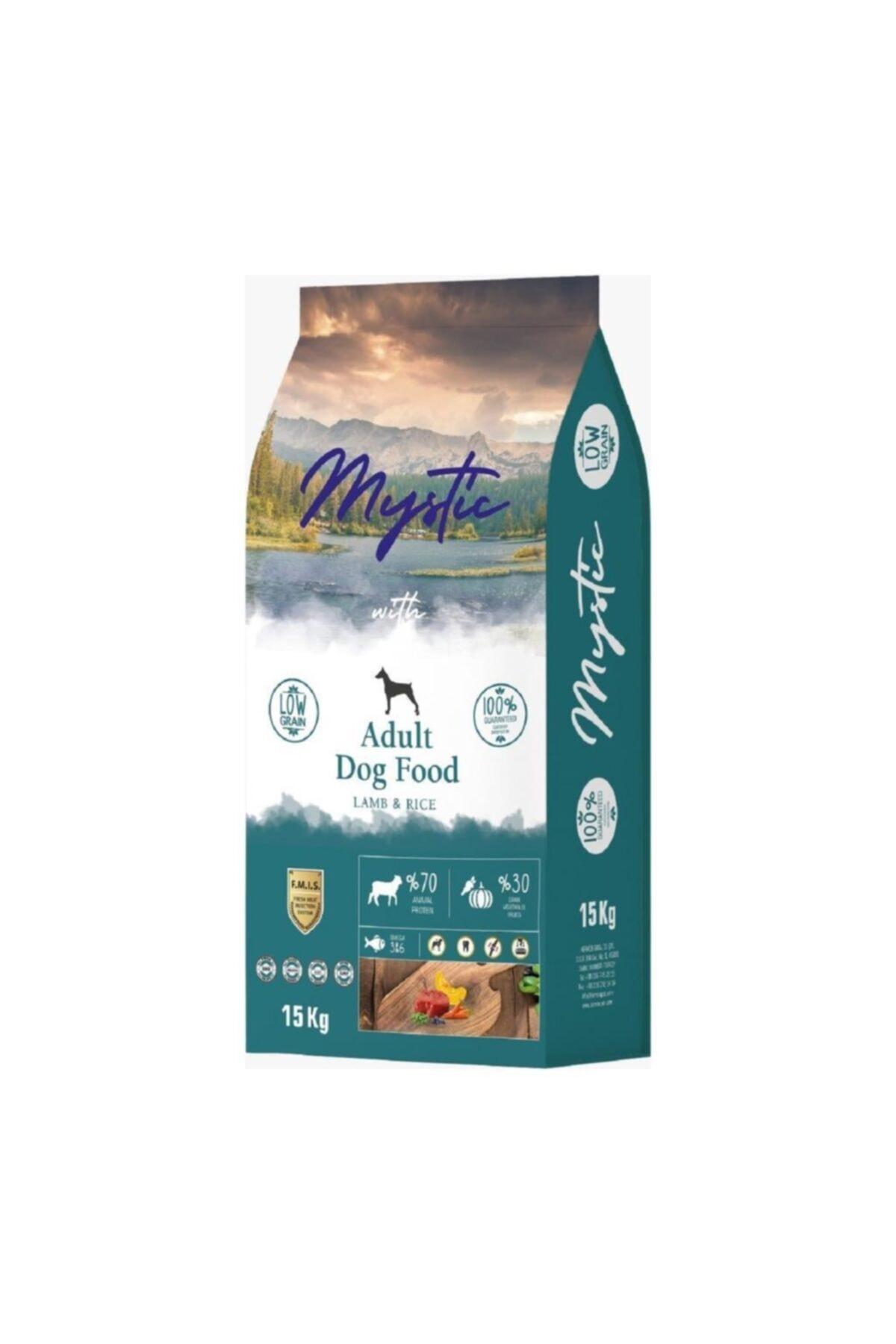 Mystic Düşük Tahıllı Kuzu Etli Köpek Maması 15 Kg 1