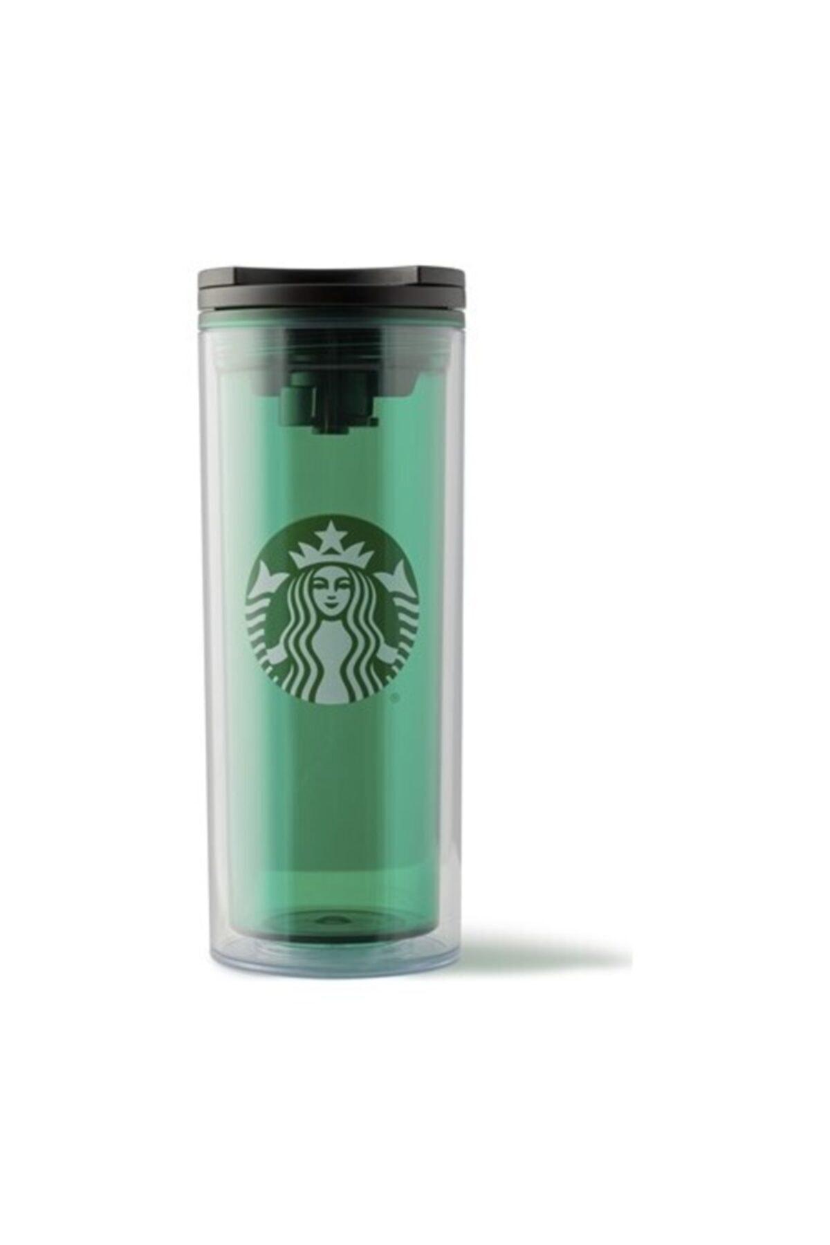 Starbucks 355ml Şeffaf Yeşil Termos 1