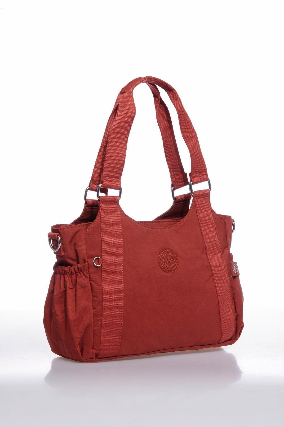 SMART BAGS Kadın Kiremit Omuz Çantası Smbk1163-0128 2