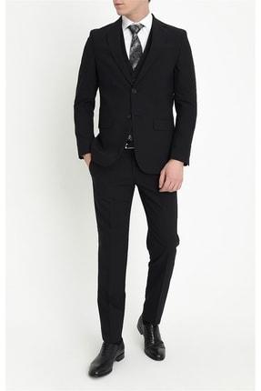 Efor Erkek Siyah Slim Fit Klasik Takım Elbise Tk 781