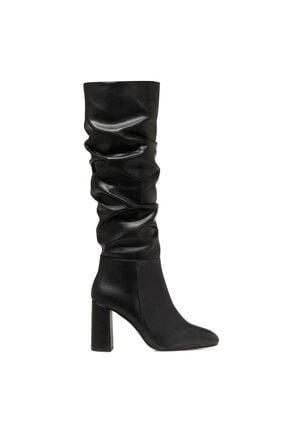 Nine West SORAMA Siyah Kadın Ökçeli Çizme 100582125