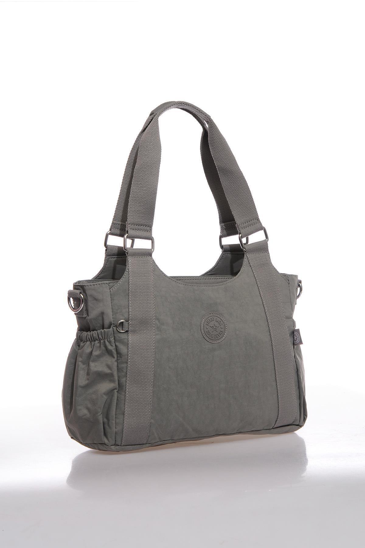 SMART BAGS Kadın Gri Omuz Çantası Smbk1163-0078 2