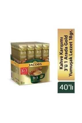 Jacobs Gold 3ü1 Arada Yumuşak Lezzet