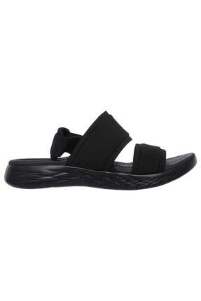SKECHERS Kadın Siyah Sandalet 15309-bbk