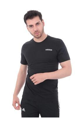 adidas Erkek Siyah Essentials Plain Tişört Ss19