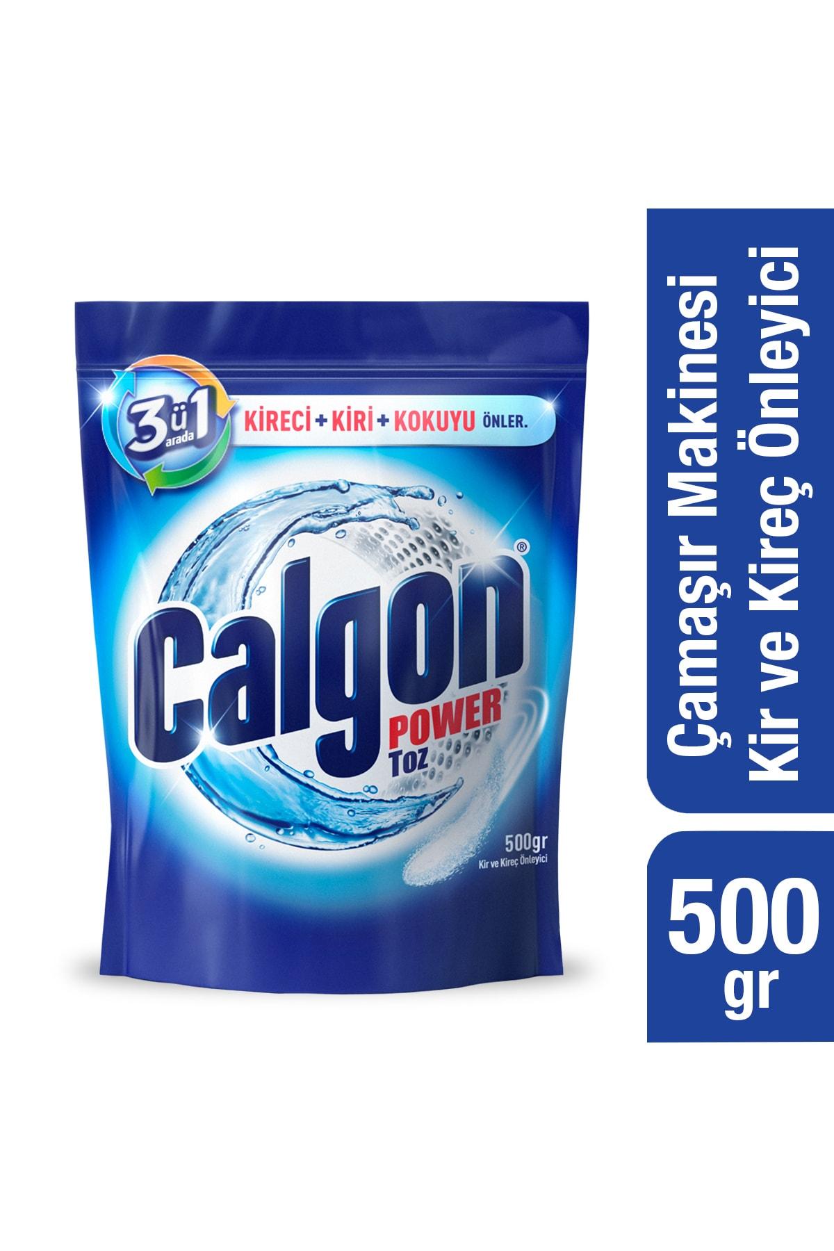 Calgon Çamaşır Makinesi Kireç Önleyici Toz 500 gr 1