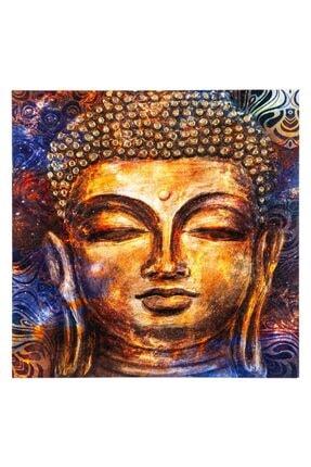 Mudo Concept Buda Iı Dokulu-varaklı Kanvas Tablo 80x80cm