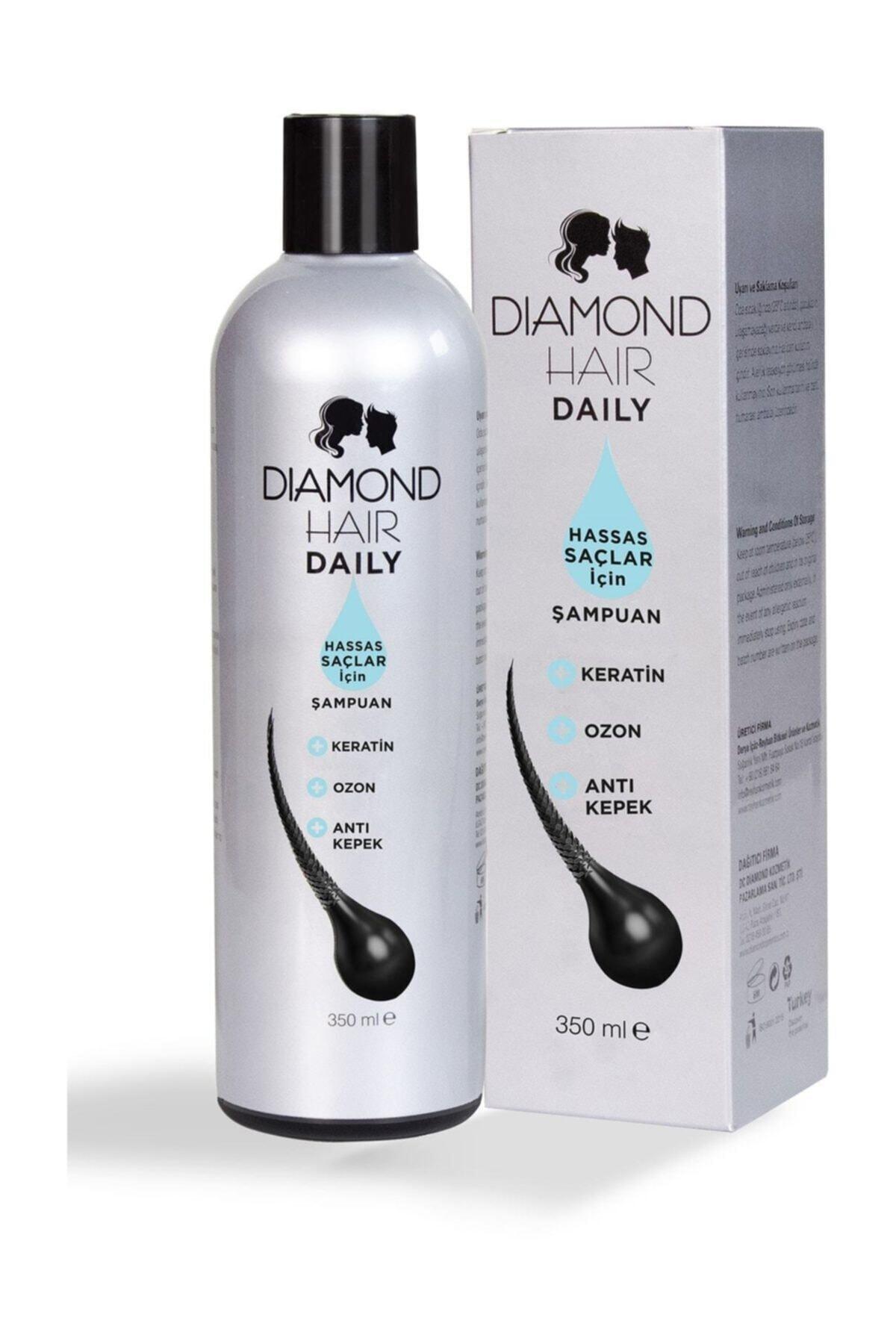 DIAMOND HAIR Hassas Saçlar için Hair Şampuan 350 ml 8680652024276 1