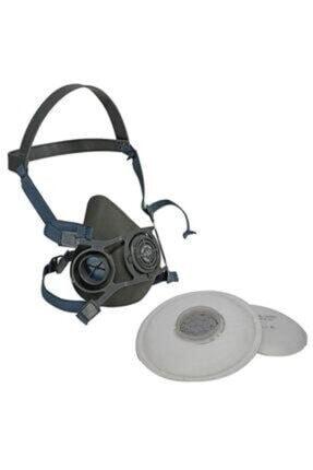 Starline V-800 Yarım Yüz Gaz Maskesi+p3 Toz Filtresi