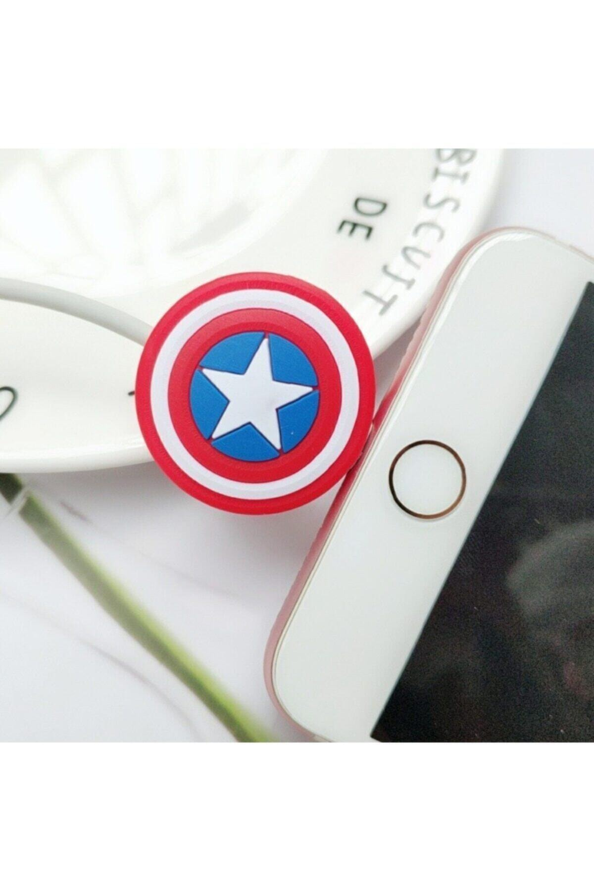 MY MÜRDÜM Kaptan Amerika Kablo Koruyucu 2