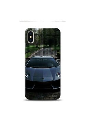 EXCLUSIVE Iphone Xs Uyumlu Max Best Car Lambo Desenli Telefon Kılıfı