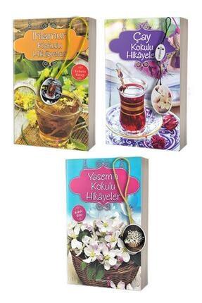 Yakamoz Yayınları Yasemin, Ihlamur Ve Çay Kokulu Hikayeler - 3 Adet Kokulu Kitap