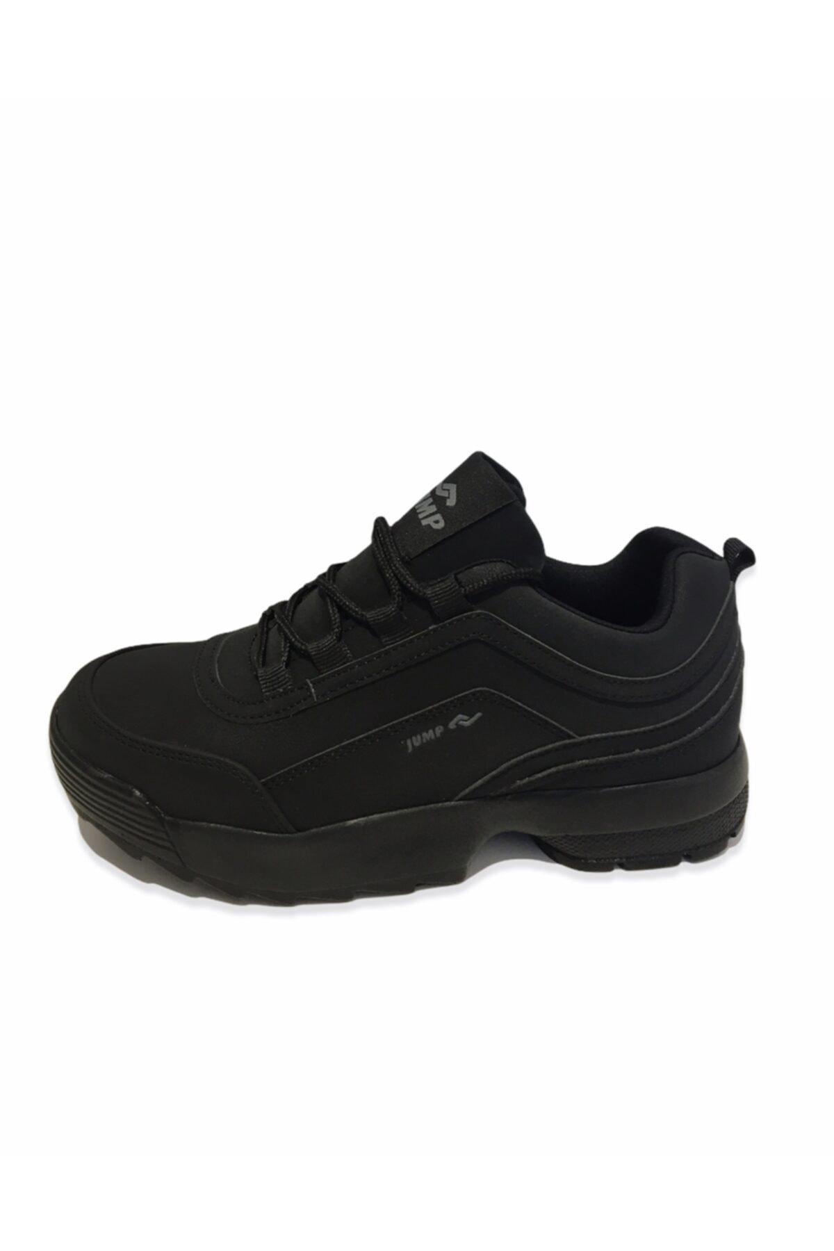 Jump Kadın Siyah Spor Ayakkabı 2