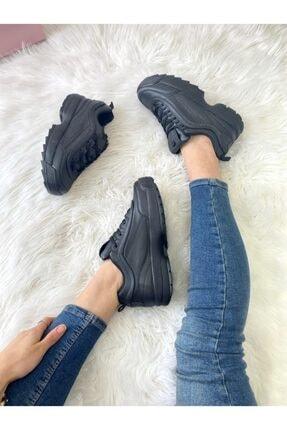 ELSESHOES Kadın Sıyah Spor Ayakkabı