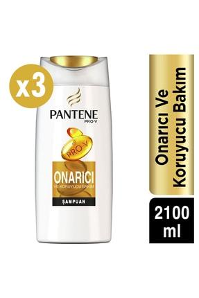 Pantene Onarıcı Ve Koruyucu Bakım Şampuanı  3x700 ml