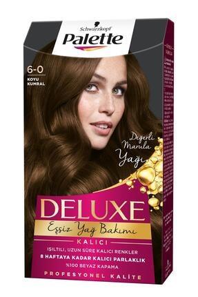 Palette Deluxe 6-0 Koyu Kumral Saç Boyası